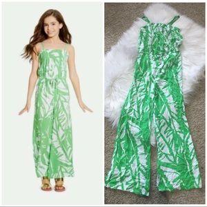 71765fab0e5a Lilly Pulitzer Target Boom Boom Green Jumpsuit L